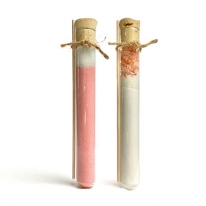 Japanese Bath Salt Lavender Blossom Onsen Set with 50 mg CBD