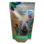 Holistic Tails – Hemp Dog Treats – Hemp Bites – Large – Front – CBD
