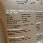 Holistic Tails – Hemp Dog Treats – Hemp Bites – Large – Side